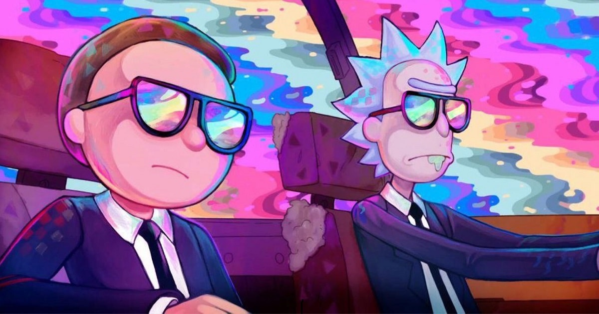 Rick and Morty x Run The Jewels Oh Mama-min